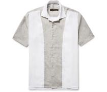 Panelled Linen Shirt