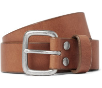 5cm Brown Brody Leather Belt