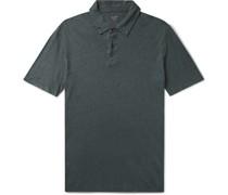 Slub Linen Polo Shirt
