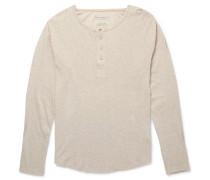 Fairtrade Organic Cotton-jersey Henley T-shirt