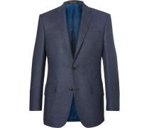 Blue Hyde Slim-fit Wool-hopsack Blazer