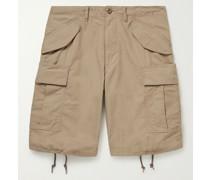Cotton-Ripstop Cargo Shorts