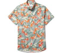 Esquina Button-down Collar Cotton-poplin Shirt