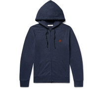 Happy Carry On Hemp-blend Zip-up Hoodie