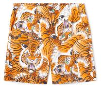 + Tim Lehi Printed Woven Shorts