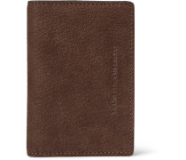 Full-grain Nubuck Bifold Cardholder