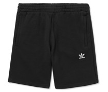 Essential Logo-Embroidered Cotton-Jersey Shorts