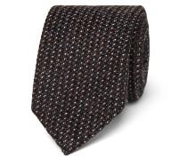 + Drake's Statesman 8cm Nailhead Wool Tie