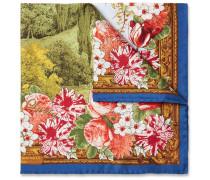 Villa Lucia Printed Silk-twill Pocket Square