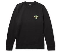 Hippie Crawl Printed Fleece-back Cotton-blend Jersey Sweatshirt