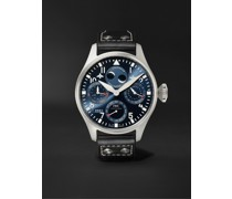 Big Pilot's Automatic Perpetual Calendar 46.2mm Stainless Steel and Leather Watch, Ref. No. IW503605