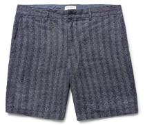 Baxter Herringbone Linen Shorts