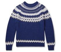 Fantasy Slim-Fit Fair Isle Merino Wool Sweater