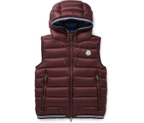 Amiens Quilted Shell Hooded Down Gilet