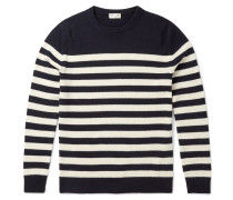 Slim-fit Striped Cashmere Sweater