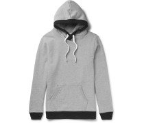 Loopback Cotton-jersey Hoodie