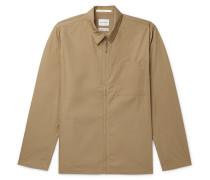 Jens Packable Cotton-Blend Poplin Overshirt