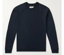 Rivet Loopback Cotton-Jersey Sweatshirt