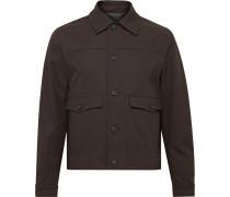 Cotton-Blend Twill Chore Jacket