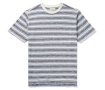Box Striped Cotton T-Shirt