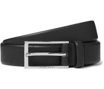 3cm Carmello Full-Grain Leather Belt