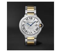 Ballon Bleu de Cartier Automatic 42mm Stainless Steel and 18-Karat Gold Watch, Ref. No. CRW2BB0022