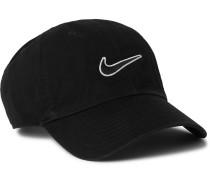 Sportswear Heritage 86 Logo-Embroidered Cotton-Twill Baseball Cap
