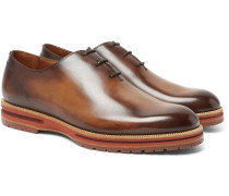Alessio Whole-cut Leather Oxford Shoes