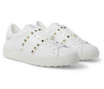 Valentino Garavani Rockstud Untitled Leather Sneakers