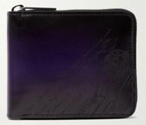 Scritto Venezia Leather Zip-Around Wallet