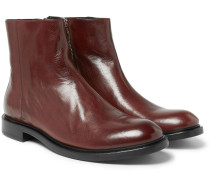 Sullivan Polished-leather Boots
