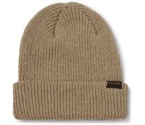 Watch Cap Ribbed Wool Beanie