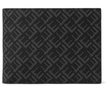 Logo-Print Coated-Canvas Billfold Wallet
