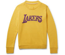 + Nba Los Angeles Lakers Intarsia Cashmere Sweater