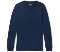 Henry Slub Cotton-jersey Henley T-shirt