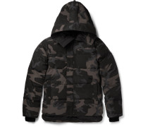 Macmillan Quilted Camouflage-print Shell Down Parka