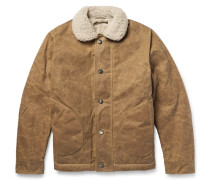 N1 Shearling-lined Mil-spec Texwax™ Deck Jacket