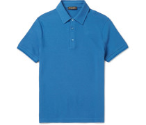 Slim-fit Stretch-cotton Piqué Polo Shirt