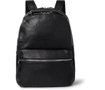 Runwell Full-grain Leather Backpack