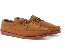 Blucher Suede Boat Shoes
