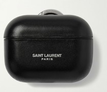 Logo-Print Leather AirPods Pro Case