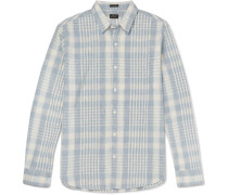 Colonial Slim-fit Plaid Cotton Shirt