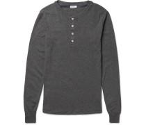 Karl Heinz Cotton-jersey Henley T-shirt