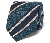 8cm Striped Mulberry Silk-blend Tie