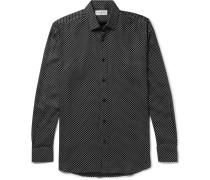 Star-print Twill Shirt