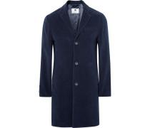 Aaron Slim-fit Water-repellent Cotton-moleskin Coat
