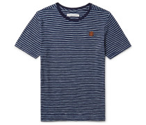 Happy Striped Cotton T-shirt