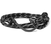 Hook Cord Pvd-plated Wrap Bracelet
