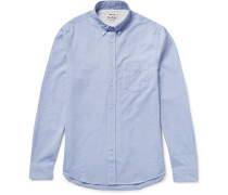 Isherwood Slim-fit Button-down Collar Cotton Oxford Shirt