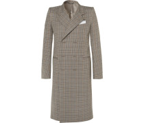 Checked Cotton Coat
